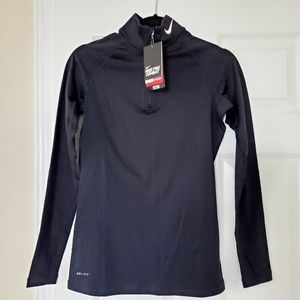 NWT Nike Pro Women's Dri-Fit Hyperwarm Pullover